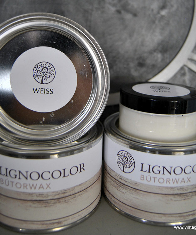 Lignocolor Bútorwax Fehér MATT 100ml