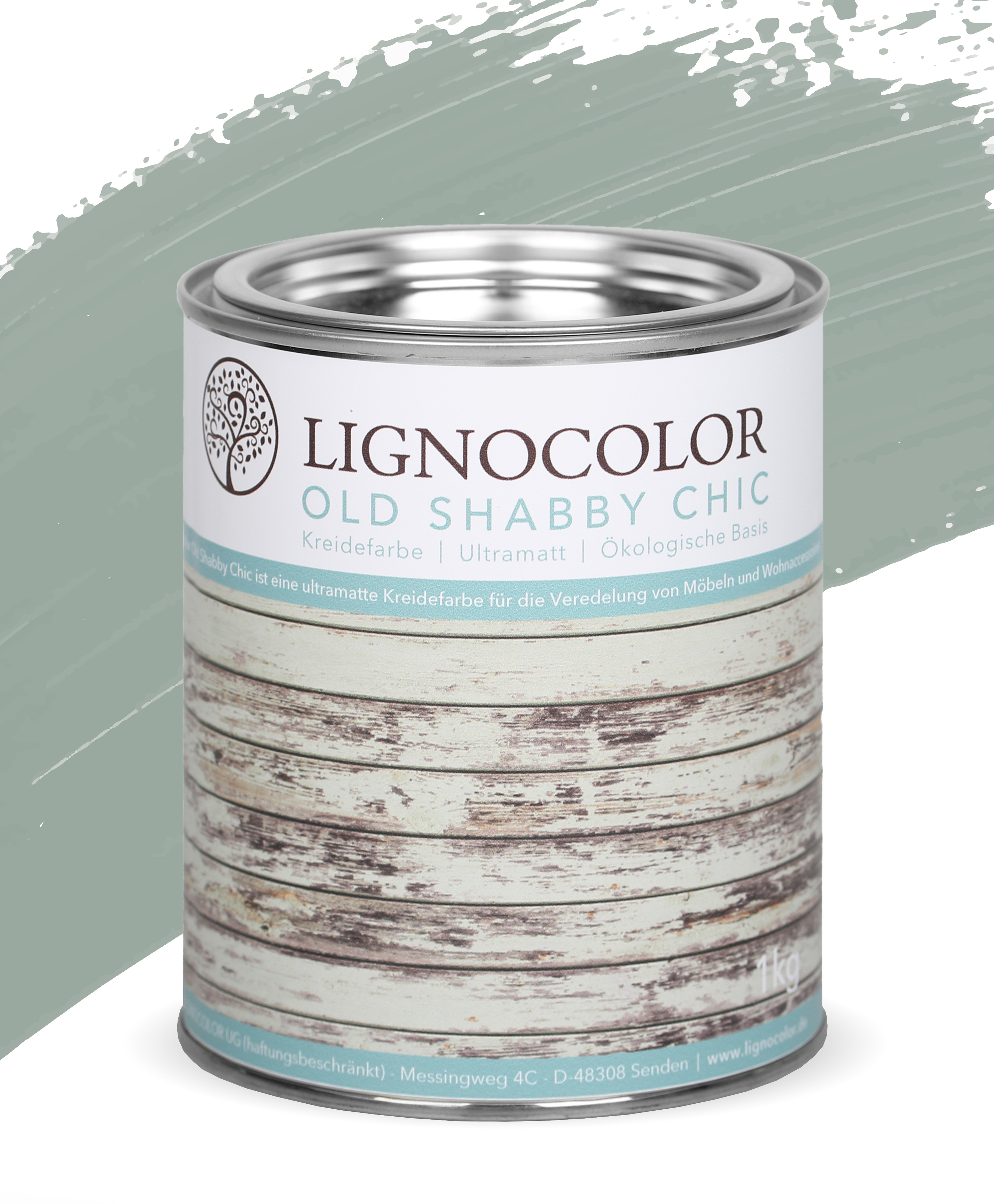 Lignocolor Old Shabby Chic 1kg_Duck Egg