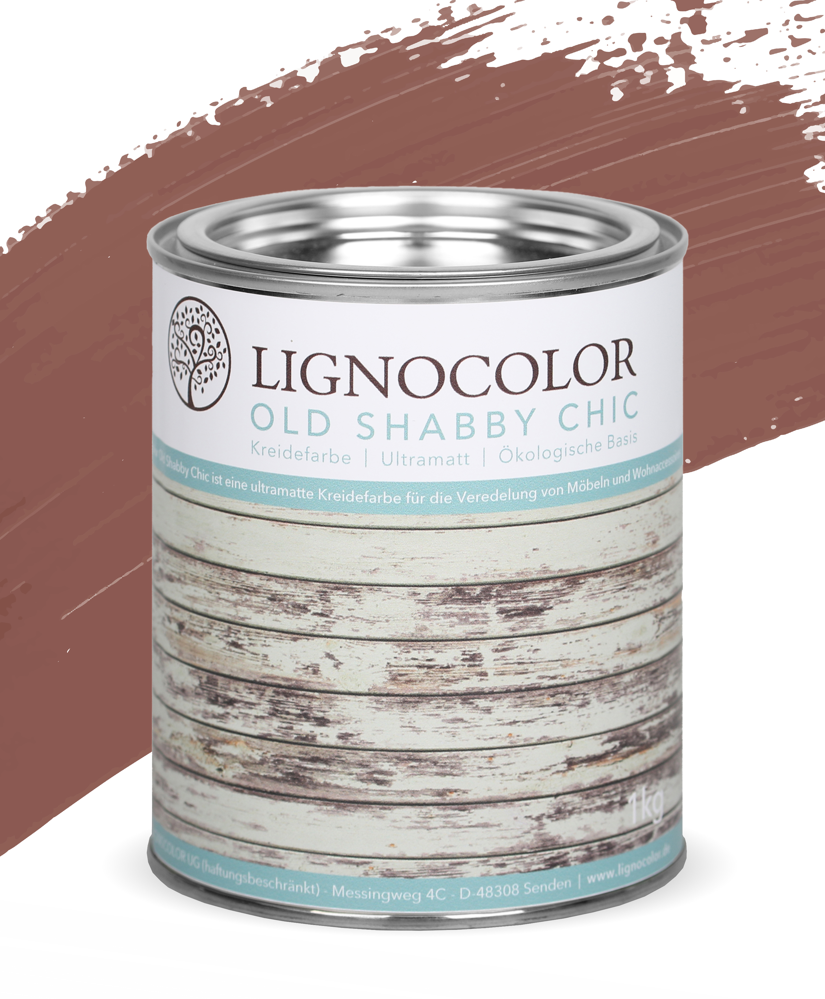 Lignocolor Old Shabby Chic 1kg_Rusty