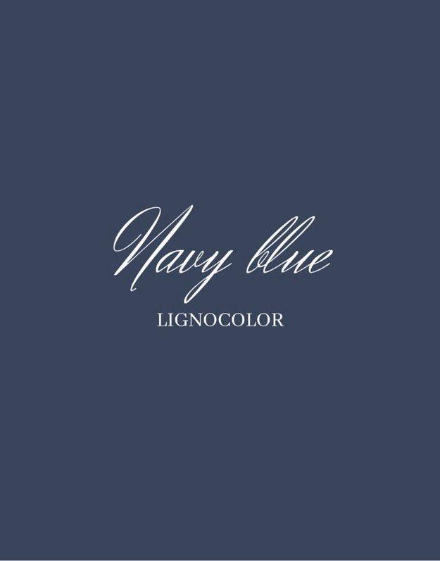 Lignocolor krétafesték NAVY BLUE- 2020 Új szín